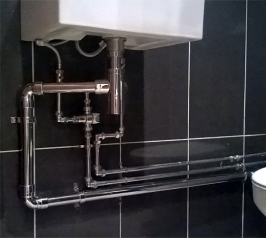 Waste Plumbing In All Business Office And Retail Premises