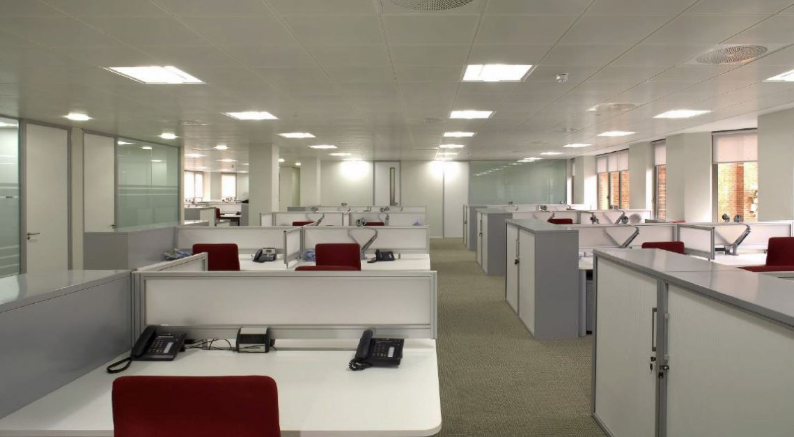 Open plan office cooling and air conditioning for Office design usa