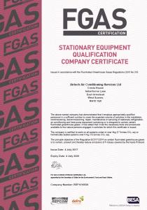 Airtech Air Conditioning FGas
