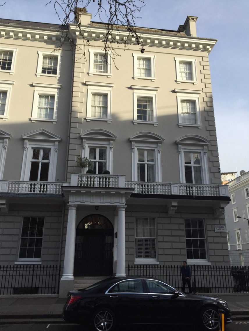 Listed House in london