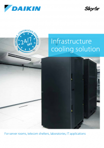 Daikin Infrastructure cooling Airtech Air Conditioning