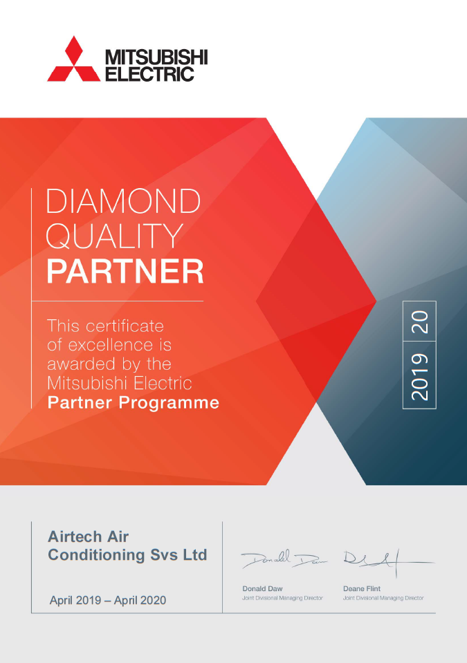 Mitsubishi Electric Partner Programme Business Solution Accredited BSP