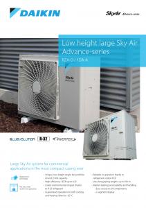 Airtech Daikin Low Height Sky Air Brochure Thumb