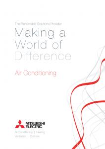 Airtech Mitsubishi Electric Air Con Brochure Thumb