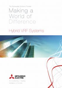 Airtech Mitsubishi Electric Hybrid VRF Thumb