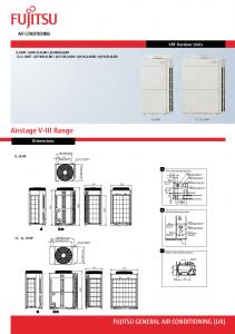 Airtech Fujitsu Heat Pump Brochure Thumb