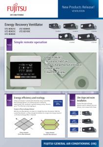 Airtech Fujitsu Ventilation Brochure thumb